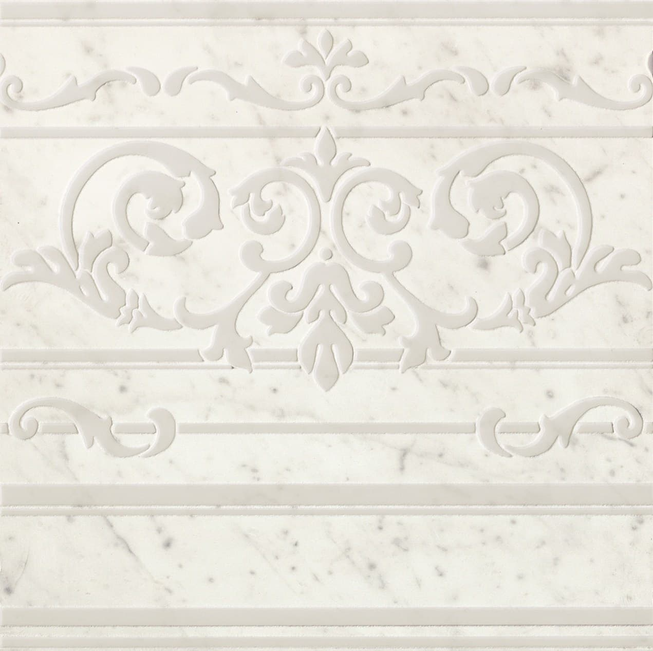 Керамическая плитка Roma Diamond Carpet Carrara Border Ins. Керамогранит